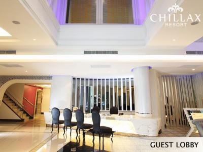 Chillax resort reception