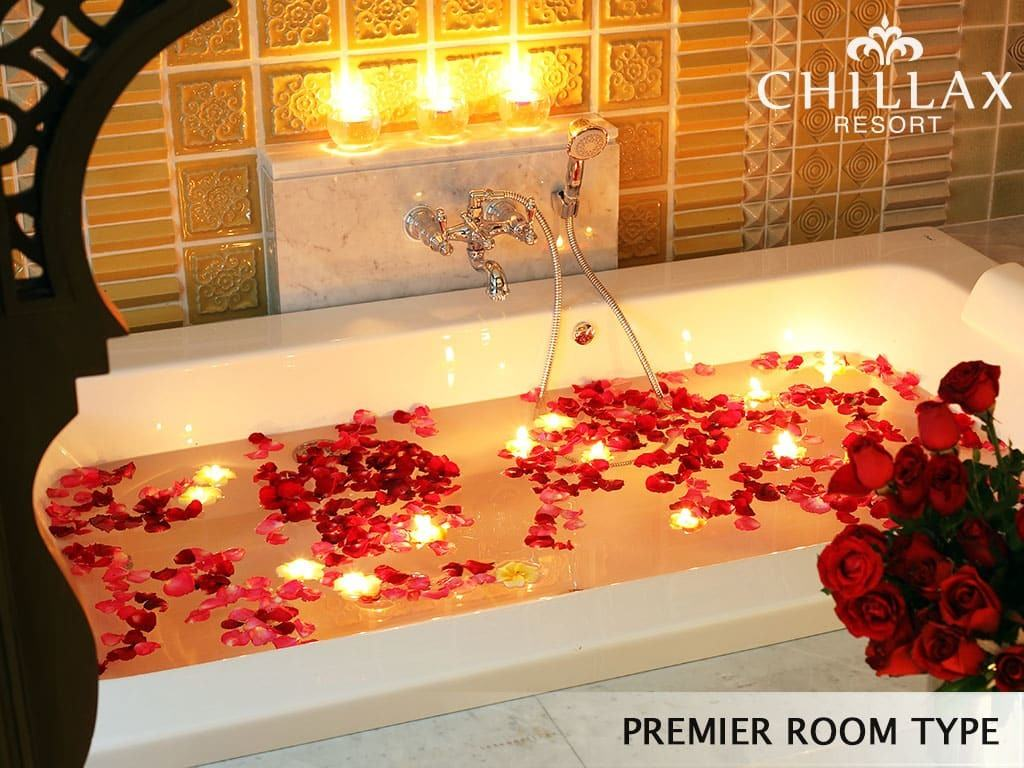 Luxury premier room type with private jacuzzi chillax resort - Romantic decorations for hotel rooms ...