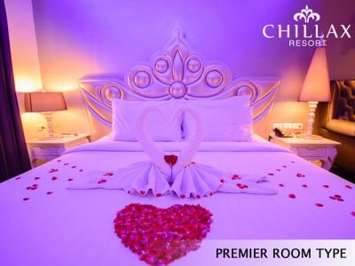 Honeymoon suite at Chillax Hotel