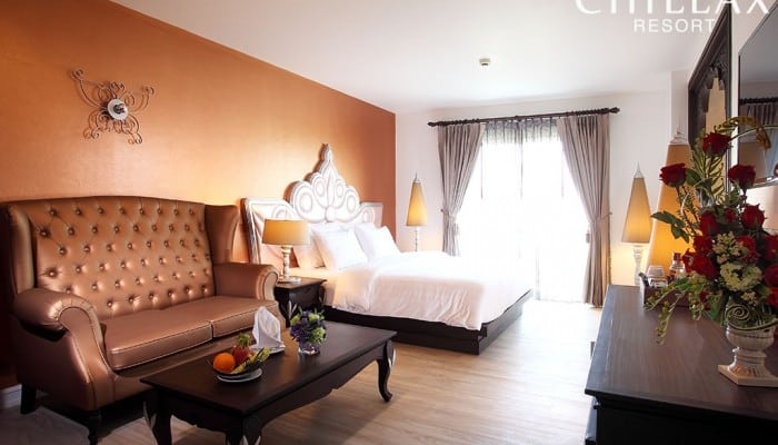 Luxury romantic hotel in Bangkok