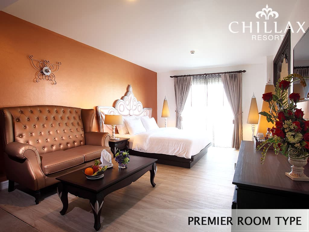 LUXURY PREMIER ROOM TYPE WITH PRIVATE JACUZZI CHILLAX RESORT