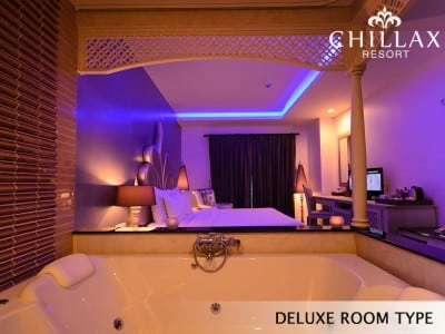 Luxury Jacuzzi rooms with private Jacuzzi