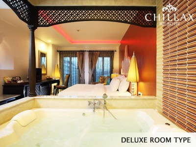 Deluxe double room with Whirlpool bath rooms