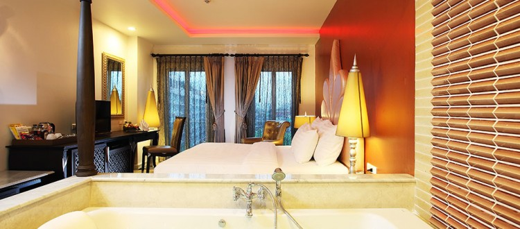 Deluxe double room with Jacuzzi rooms