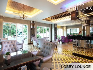 Bangkok hotel with Guest lounge