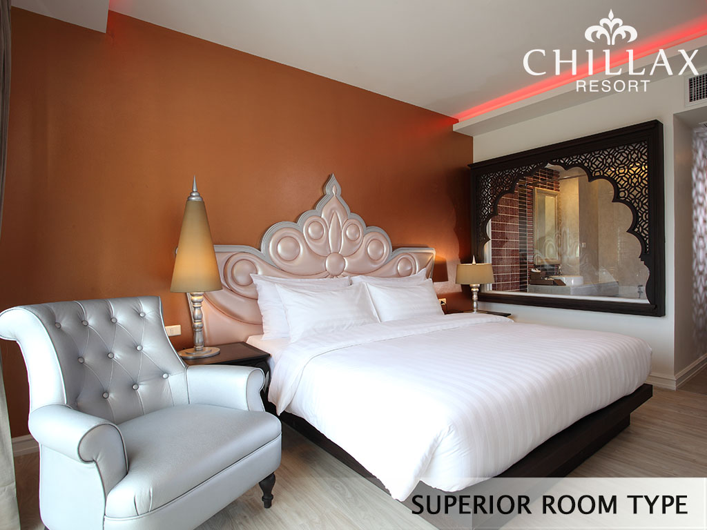 Superiorroom type2 chillax resort for Most romantic boutique hotels