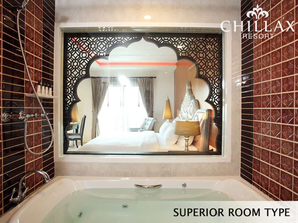 Superior room type with private jacuzzi in bangkok hotel for Hotel mit jacuzzi im zimmer nrw