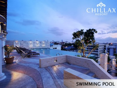 Swimming Pool Hotel near Khaosan road